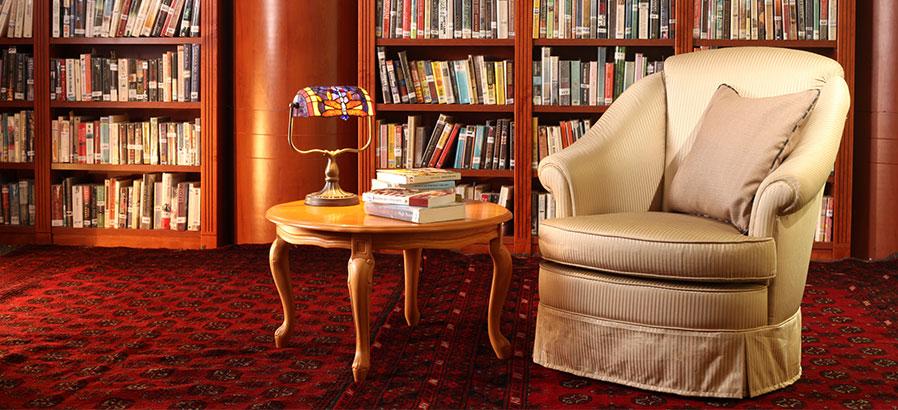 ספרייה בבית בנורדיה